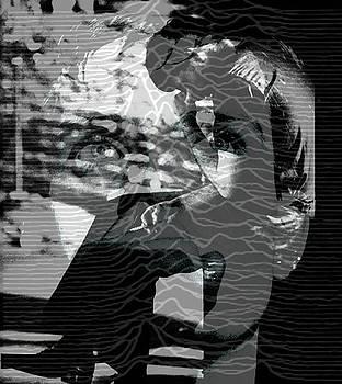 Ian Curtis  by Elliott Danger James