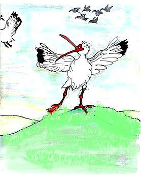 Ibis may never fly again by Carol Allen Anfinsen