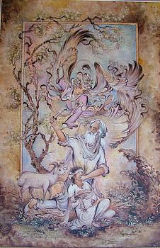 Ibrahim prophet by Reza Badrossama