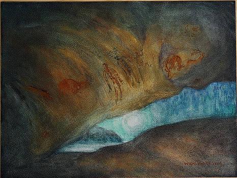 Ice Age Dream II by Wicki Van De Veer