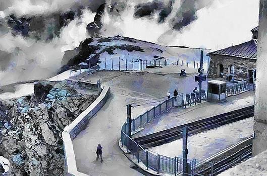 Ice and snow at Zermatt by Ashish Agarwal
