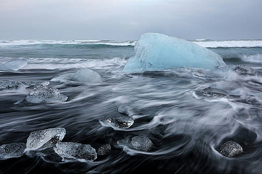 Ice beach  by Tom Cuccio
