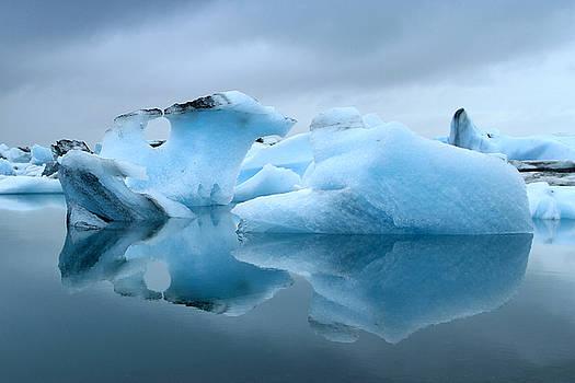 Kathy Stanczak - Ice Bergs Reflected