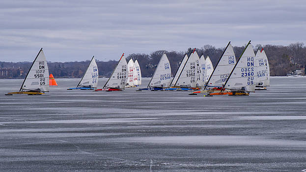 Steven Ralser - Ice boat racing - Madison - Wisconsin