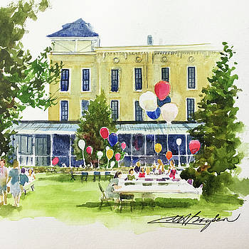 Ice Cream Social and Strawberry Festival, Lakeside, OH by Maryann Boysen