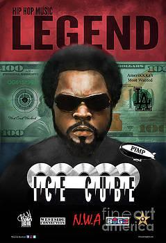Ice Cube  by Dwayne Glapion
