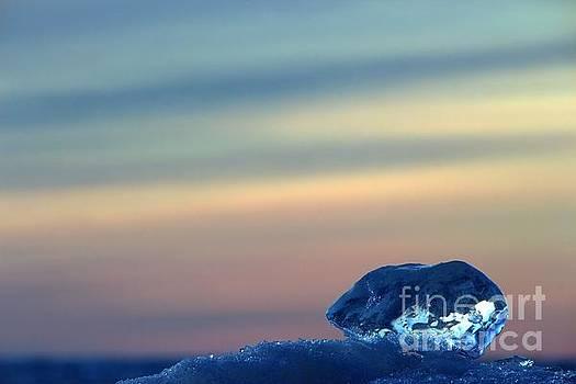 Ice Cube Sky 3 by John Scatcherd