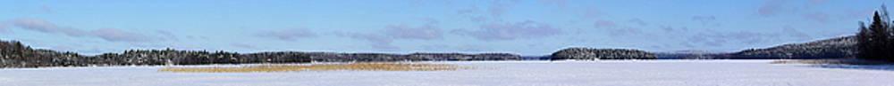 Ice fishing. Rautavesi by Jouko Lehto