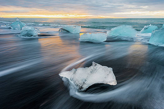 Ice Flow by Mike Walker