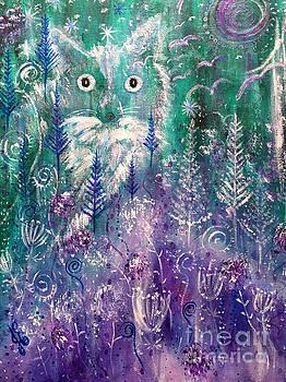 Ice Fox by Julie Engelhardt