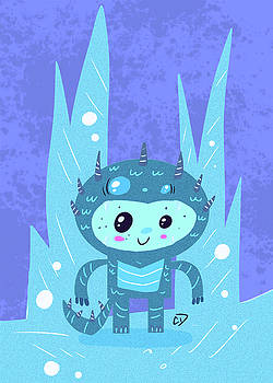 Ice Monster Boy by Cesar Diaz
