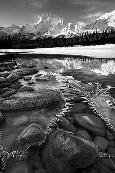 Ice on the Athabasca by Dan Jurak