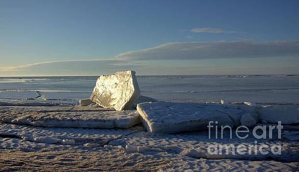 Ice Shapes by John Scatcherd