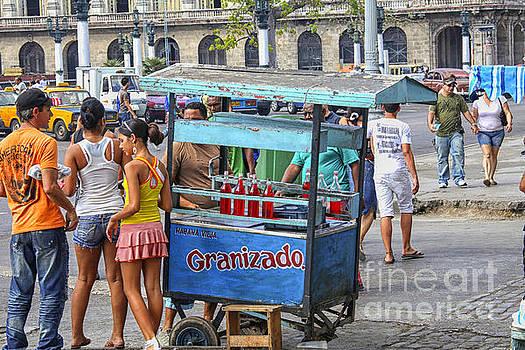 Patricia Hofmeester - Ice vendor on streets of Havana
