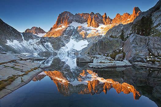 Iceberg Lake by Nolan Nitschke