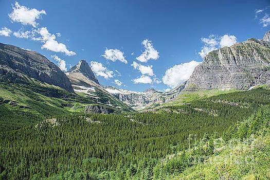 Iceberg Lake Trail Mountain Valley - Glacier National Park by Jason Kolenda