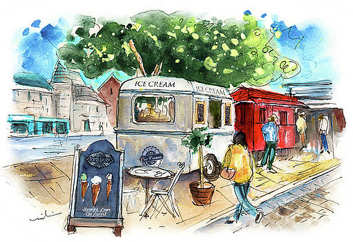 Icecream Van In York 01 by Miki De Goodaboom