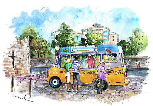 Icecream Van In York 02 by Miki De Goodaboom