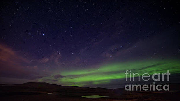 Iceland Aurora by Jerry Fornarotto