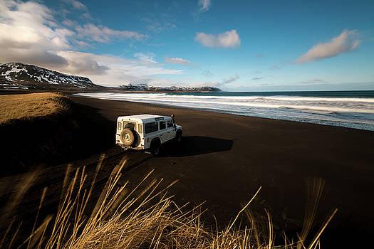 Larry Marshall - Iceland Black Sand Beach