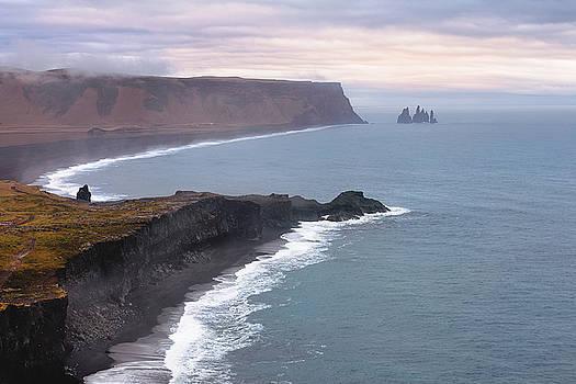 Iceland coast by Dana Plourde