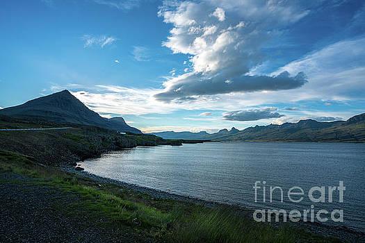 Iceland Coastal Cloudscape by Mike Reid