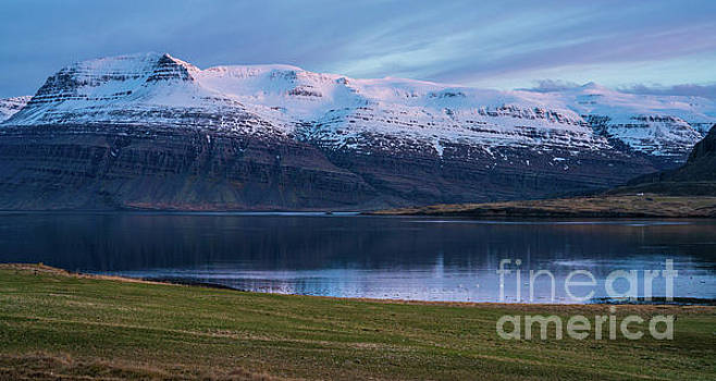 Iceland Eastfjords Serenity by Mike Reid