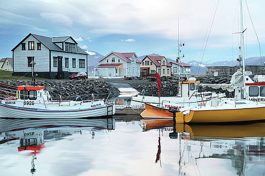 Iceland Fishing Town by Tom Cuccio
