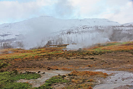 Iceland Geyser Park Mosses Grasses Vents Mountains Sky Iceland 2 2122018 1142.jpg by David Frederick