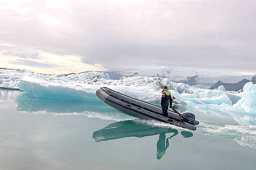 Iceland Glacier Lagoon by Ambika Jhunjhunwala