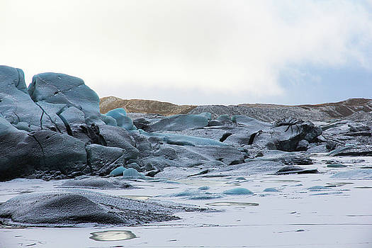 Iceland Glacier Mountains Sky Clouds Iceland 2 2142018 1742.jpg by David Frederick