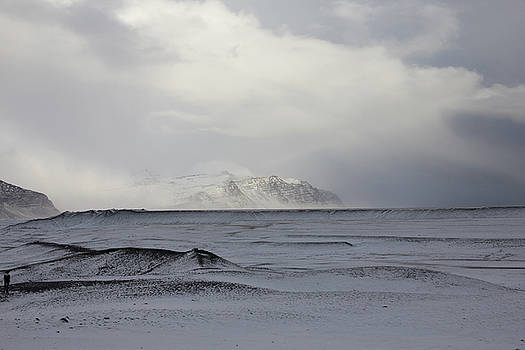Iceland Iceland Lava Field Sunrise Mountains Clouds Iceland 2 2142018 1839.jpg by David Frederick