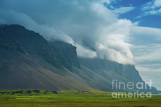 Iceland Imposing Cliffs by Mike Reid
