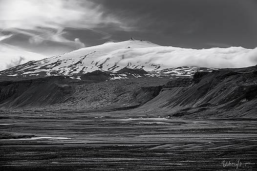 Iceland Landscape 10, Snaefellsjokull - 0867,HSW by Wally Hampton
