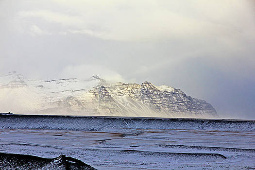 Iceland Lava Field Mountains Clouds Iceland 2 282018 1837.jpg by David Frederick