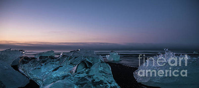 Iceland Many Words For Ice by Mike Reid
