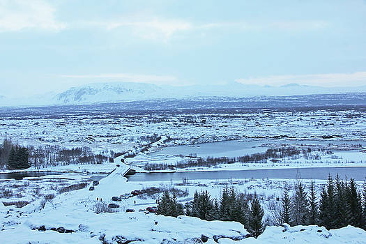 Iceland Mountains Lakes Roads bridges Iceland 2 2112018 0945 by David Frederick