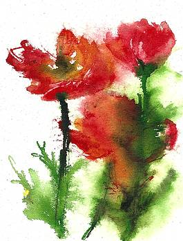 Iceland Poppy- Wildflowers of europe by Garima Srivastava