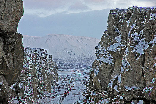 Iceland Rift Europe to the East North America to the West Iceland 2 262018 1001.jpg by David Frederick