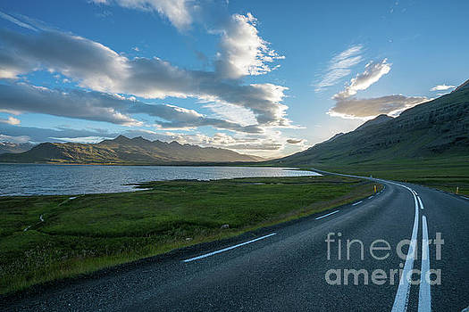 Iceland Ring Road Broad Sunset Landscape by Mike Reid