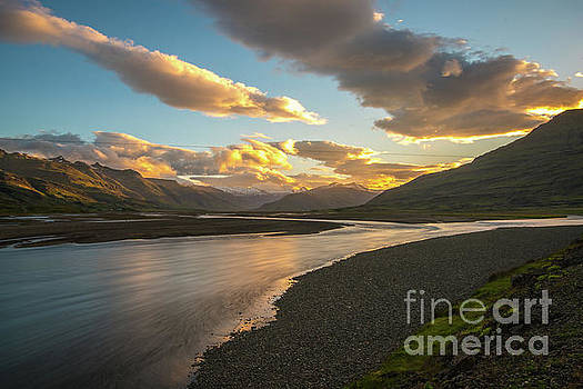 Iceland Ring Road Landscape Serenity by Mike Reid
