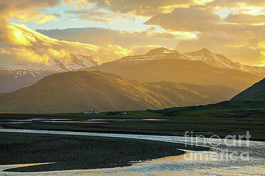 Iceland Ring Road Landscape Tranquility by Mike Reid