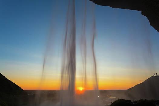 Francesco Riccardo Iacomino - Iceland, Seljalandsfoss at sunset