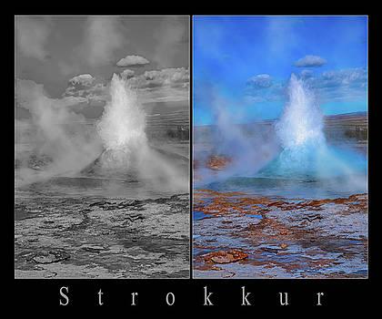 Iceland Strokker Geyser  by Betsy Knapp