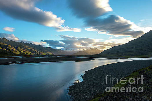 Iceland Water and Clouds Motion by Mike Reid