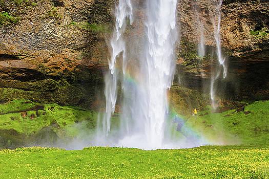 Venetia Featherstone-Witty - Seljalandsfoss Waterfall and Rainbow