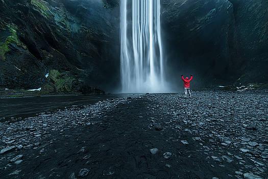Larry Marshall - Iceland Waterfall