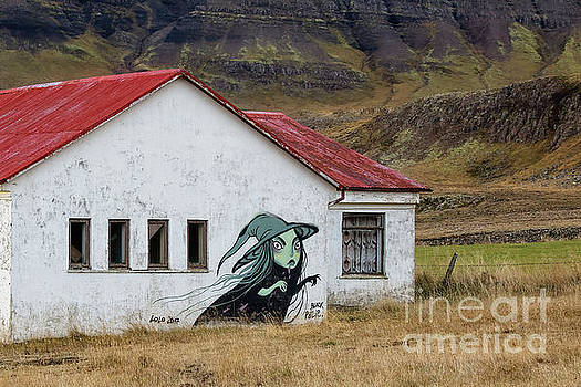 Iceland Witch Wall Art by Jerry Fornarotto