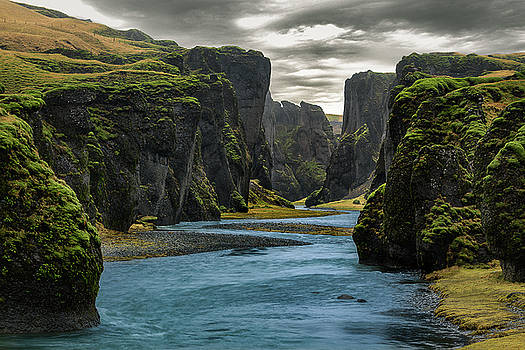 Icelandic Gorge by Dana Plourde