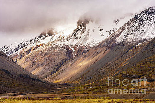 Icelands Dramatic Landscape by Mike Reid